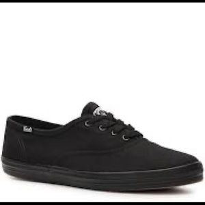 Keds Black Champion Sneaker - Never worn!